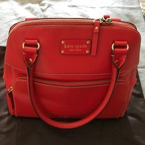 Kate Spade & Original Dust Cover New Red